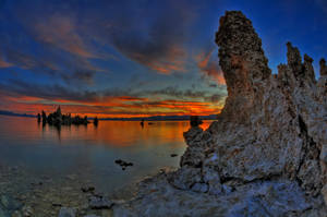 Mono Lake Sunrise 2 by merzlak