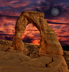 Delicate Arch by merzlak