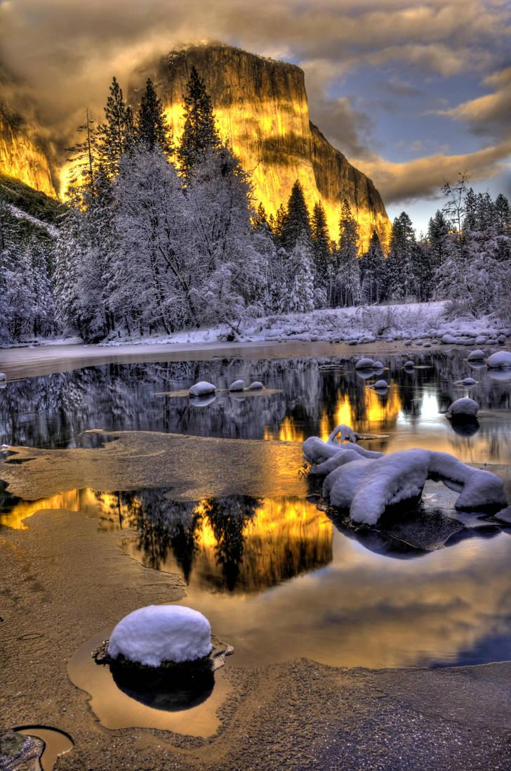 yosemite Winter 6 by merzlak