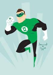 Hal Jordan - Green Lantern by jfsouzatoons