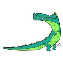Croc by jfsouzatoons