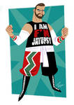 Commission - Wrestler by jfsouzatoons