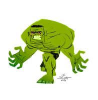 Hulk by jfsouzatoons