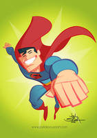 Superman  by jfsouzatoons