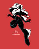 Black Cat by jfsouzatoons