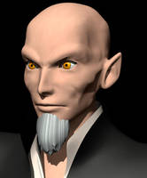 Master Xehanort model WIP by TheRPGPlayer
