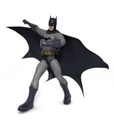 Batman 3D Model by TheRPGPlayer