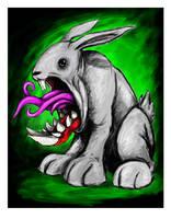 the killer rabbit by mrpip