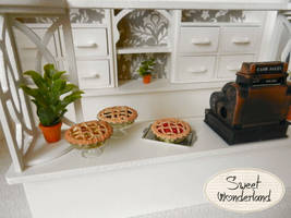 Polymer Clay Magnet Pie's by Bunny-84
