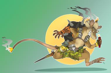 A Junker Rat by SnookumsGal