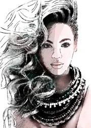 Beyonce by illuscrazyon