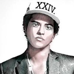 Bruno Mars by illuscrazyon