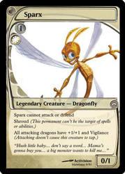 Sparx MTG Card by Mawbane