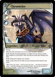 Chronicler MTG Card by Mawbane