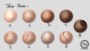Skin tone by tranenlarm