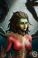 Queen of Blade by tranenlarm