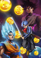 Dragon Ball Super by tranenlarm