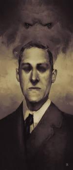 HP Lovecraft by tranenlarm