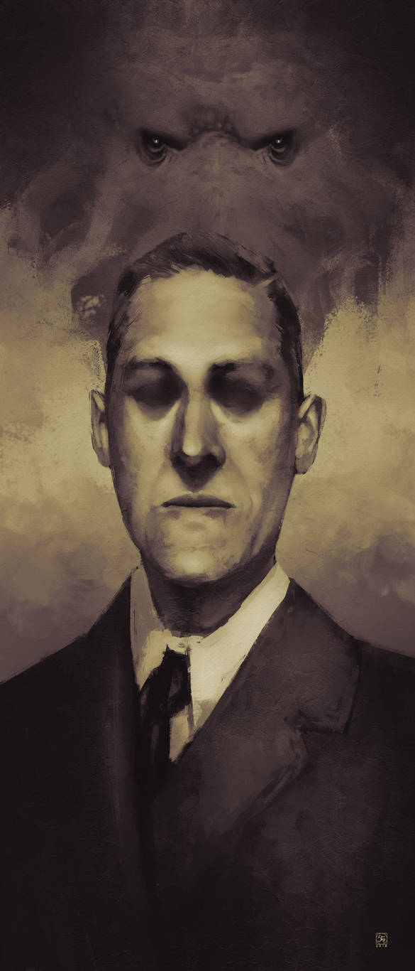 HP Lovecraft by tranenlarm