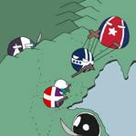 V3 Raythe: Ohrid Ball: Torrovn War by manomow