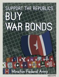 V3: Grand War - Minston Propaganda Poster by manomow