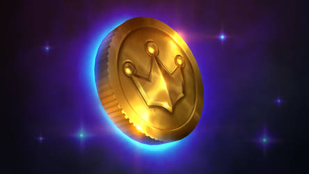 Golden Coin Tutorial by Samarskiy