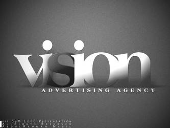 vision Advertising Agency - Typography by ElJanGoo