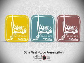 Dina Fisal Handmade - Logo Presentation by ElJanGoo