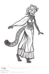 Red Panda Dancer by Ansem1000