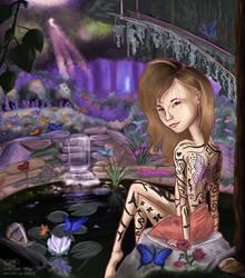 The Butterfly Pond by Ansem1000