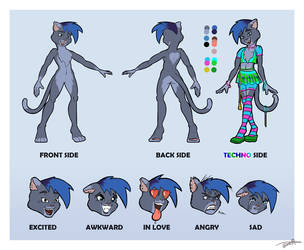 [CLOSED] Adopt - Techno Cat  [CLOSED] by Ansem1000