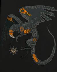 The Machinist by BlackGodFish