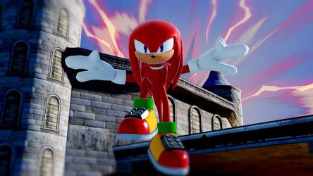 Knuckles the Echidna by EternityTsubasa