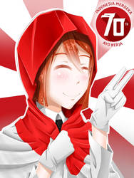 70th Indonesia by Erlando08