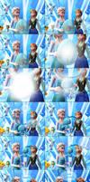 MMD Frozen-PKMN Comic - Mom Elsa by LordBlackTiger666