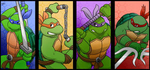 TMNT - Choose Your Character by EnterMEUN