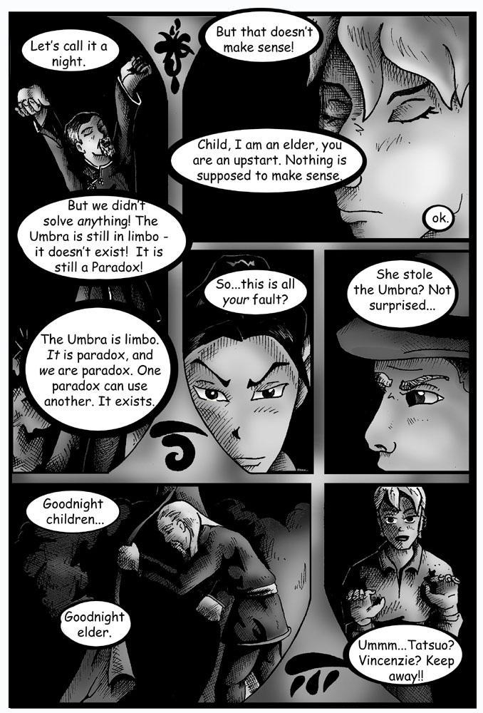 Umbra Comic - Page 7 by DragonPress