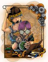 Love of Science lucca bulma by DragonPress