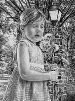 Planting Feilds Portrait in Pencil by DragonPress