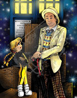 You Ain't Him Mister...Katie Power and Dr. Who by DragonPress