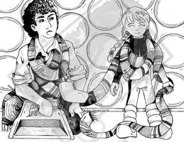 Doctor Who Power Pack: Katie and the Scarf by DragonPress