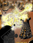 Taking on the Daleks: Power Pack Doctor Who by DragonPress