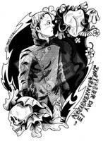 Inktober Day 13 - Frankenstein by DragonPress
