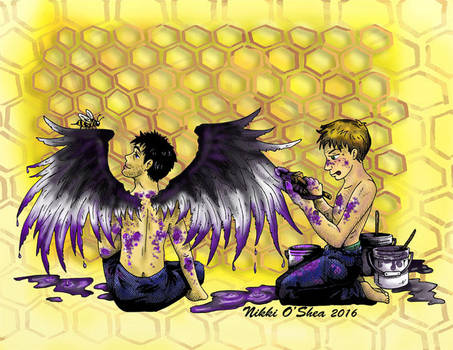 Ace Wings and Honeycombs by DragonPress