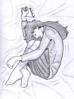 Sleeping Daria by beatnikshaggy