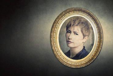 GACKT - Portrait in the frame 2 by Kot1ka