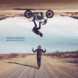 Keanu Charles Reeves by Kot1ka
