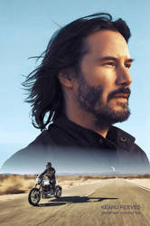 Keanu Reeves by Kot1ka