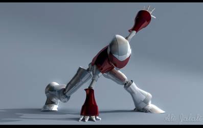 Robot by alijalali