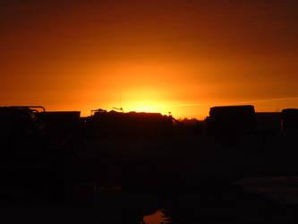 December Desert Sunset by 147CombatMedic